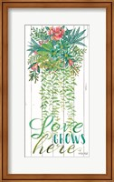 Love Grows Here Fine-Art Print