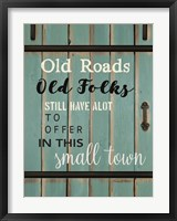 In This Small Town Barn Door Fine-Art Print