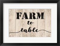 Farm to Table Fine-Art Print