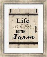 Life is Better on the Farm Fine-Art Print