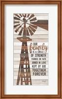 Family Circle Windmill Fine-Art Print