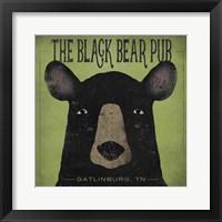 The Black Bear Pub Fine-Art Print