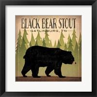 Take a Hike Bear Black Bear Stout Fine-Art Print
