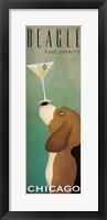 Beagle Martini v2 Fine-Art Print
