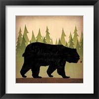 Take a Hike Bear no Words Fine-Art Print