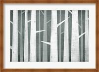 Birches Winter Woods I Neutral Fine-Art Print