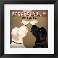 Doodle Coffee Double IV Fine-Art Print