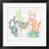 Lovely Llamas II Fine-Art Print