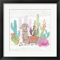 Lovely Llamas I Fine-Art Print