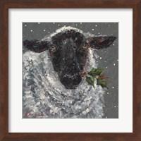 Wren the Christmas Sheep Fine-Art Print