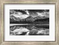 Vermillion Reflection BW Fine-Art Print