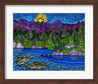 Forest Lakes Fine-Art Print