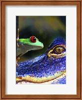 The Amphibean & The Reptile Fine-Art Print
