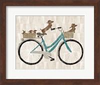 Doxie Ride ver II Fine-Art Print