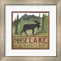 Moose Lake Fine-Art Print