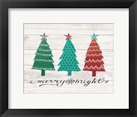 Merry & Bright Trees Fine-Art Print