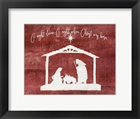 O Holy Night - Manger Fine-Art Print
