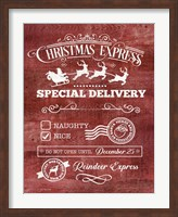 Christmas Express Fine-Art Print