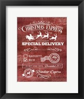Christmas Express Fine-Art Print