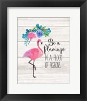 Be a Flamingo Fine-Art Print