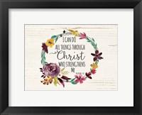 All Things Through Christ Fine-Art Print