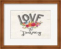 Love the Journey Floral Fine-Art Print