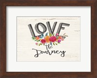 Love the Journey Floral Fine-Art Print