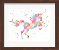 Unicorn White Fine-Art Print