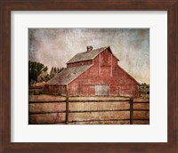 York Road Barn Fine-Art Print