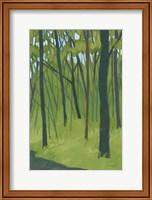 Spring Woods Dark Green Fine-Art Print