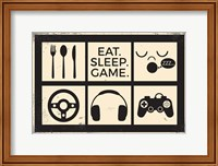Eat Sleep Game Fine-Art Print