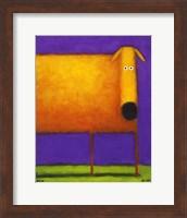 Orange Dog I Fine-Art Print