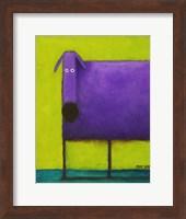 Purple Dog I Fine-Art Print