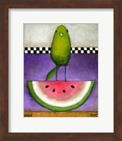 Watermelon Bird Fine-Art Print