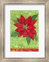 Poinsettia Collage Flag Fine-Art Print
