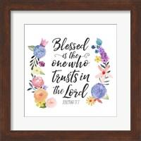 Floral Bible Verse I Fine-Art Print