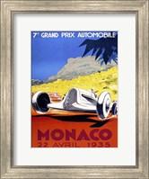 Prix Automobile Monaco 1935 Fine-Art Print