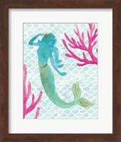 Mermaid Friends II Fine-Art Print