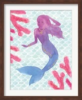 Mermaid Friends I Fine-Art Print