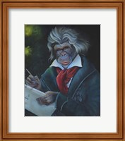 Master Monkey Beethoven Fine-Art Print