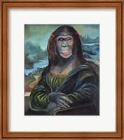 Mona Monkey Lisa Fine-Art Print