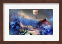 Alien World Orange Moon Fine-Art Print
