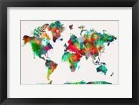 World Map 2 Fine-Art Print