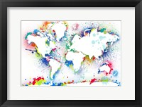 World Map 3 Fine-Art Print