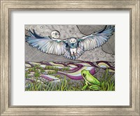 Owl And Frog Fine-Art Print