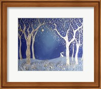 Enchanted Winter Night Fine-Art Print