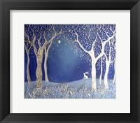 Enchanted Winter Night Fine-Art Print