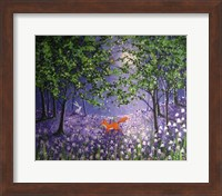 Midnight In The Bluebell Wood Fine-Art Print