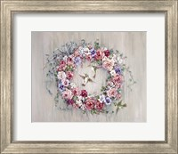Hummingbird Wreath Fine-Art Print