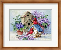 A Cardinal's Home Fine-Art Print
